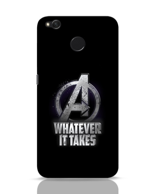 Shop Whatever It Takes Xiaomi Redmi 4 Mobile Cover-Front