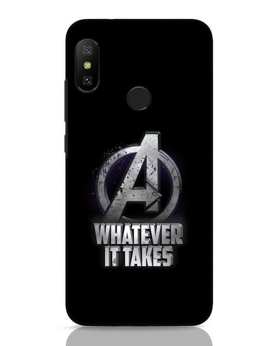 Shop Whatever It Takes Xiaomi Redmi 6 Pro Mobile Cover-Front