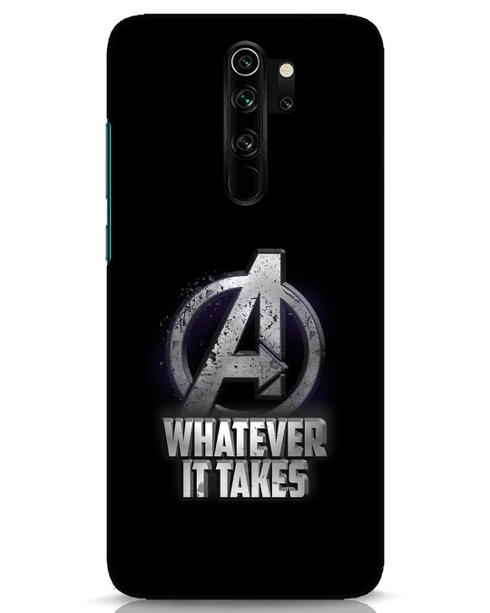 Shop Whatever It Takes Xiaomi Redmi Note 8 Pro Mobile Cover-Front