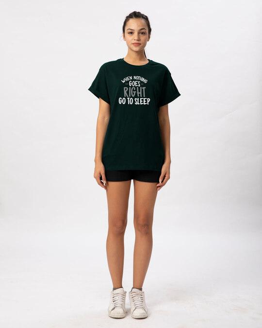 Shop When Nothing Goes Boyfriend T-Shirt