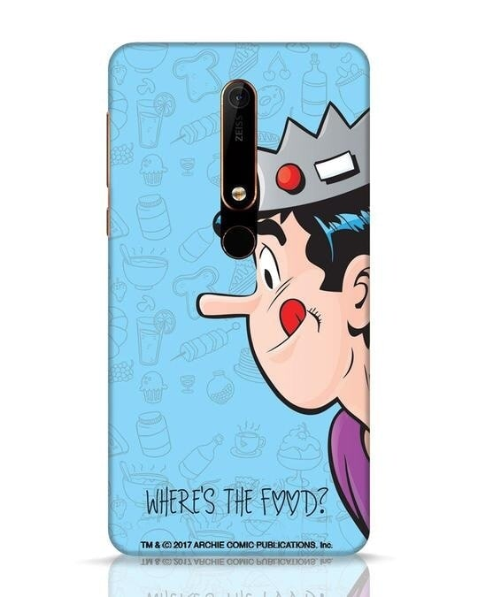 Shop Where's The Food Nokia 6.1 Mobile Cover-Front