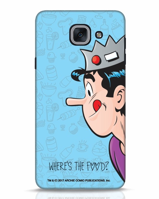Shop Where's The Food Samsung Galaxy J7 Max Mobile Cover-Front