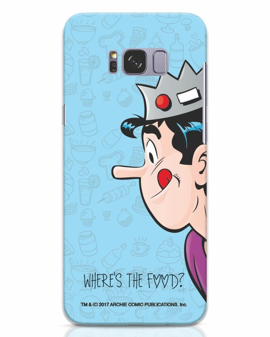Shop Where's The Food Samsung Galaxy S8 Plus Mobile Cover-Front