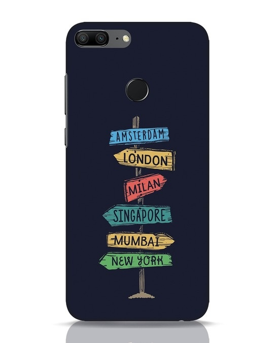 Shop Which Way To Go Huawei Honor 9 Lite Mobile Cover-Front
