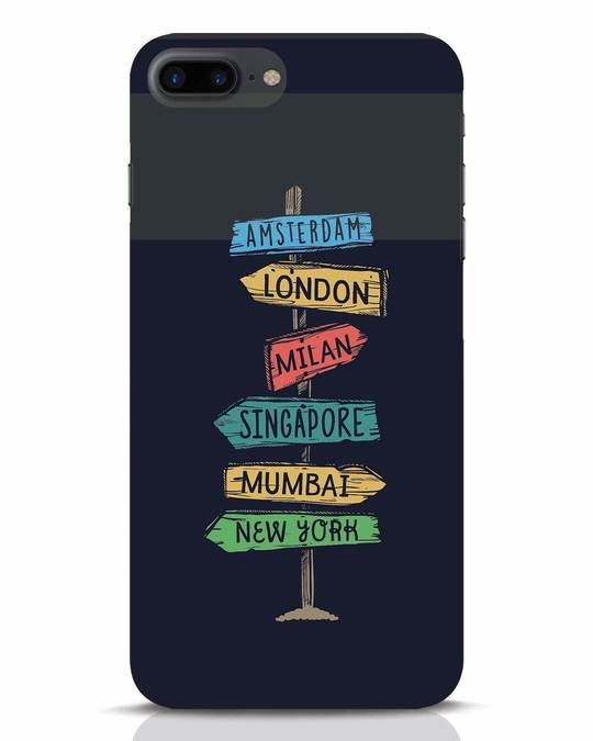 Shop Which Way To Go iPhone 7 Plus Mobile Cover-Front