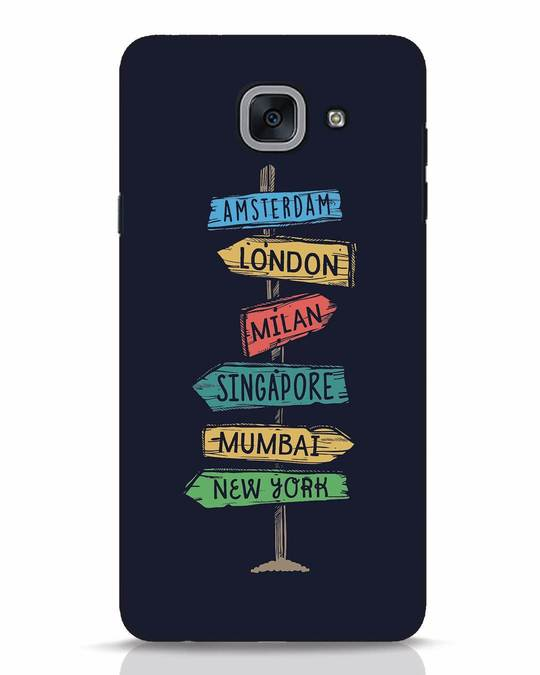 Shop Which Way To Go Samsung Galaxy J7 Max Mobile Cover-Front