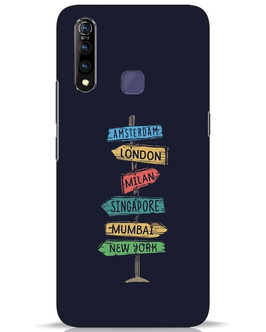 Shop Which Way To Go Vivo Z1 Pro Mobile Cover-Front