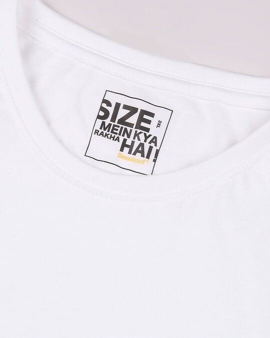 Shop White Boyfriend Plus Size T-Shirt
