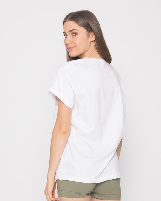 Shop White Boyfriend T-Shirt-Full