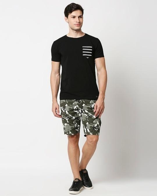 Shop White Camo Men's Shorts
