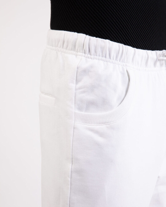 Shop White Casual Jogger Pant