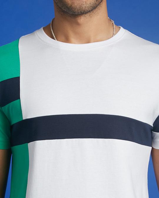Shop Bubble Gum Color Block T-Shirt-Full
