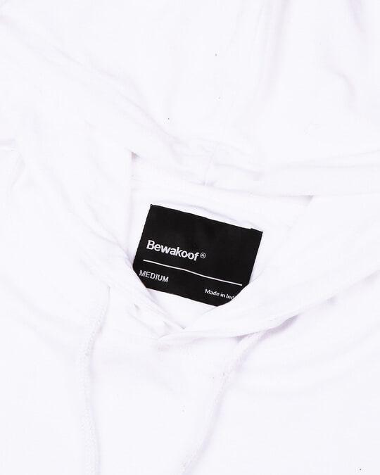 Shop White Full Sleeve Hoodie T-Shirt