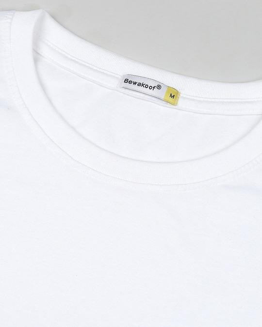 Shop White Longline T-Shirt