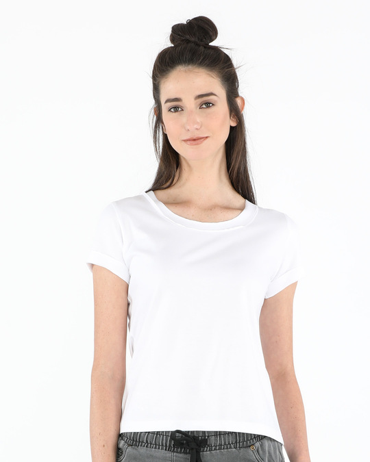 white raw edge t shirt plain womens raw edge t shirt