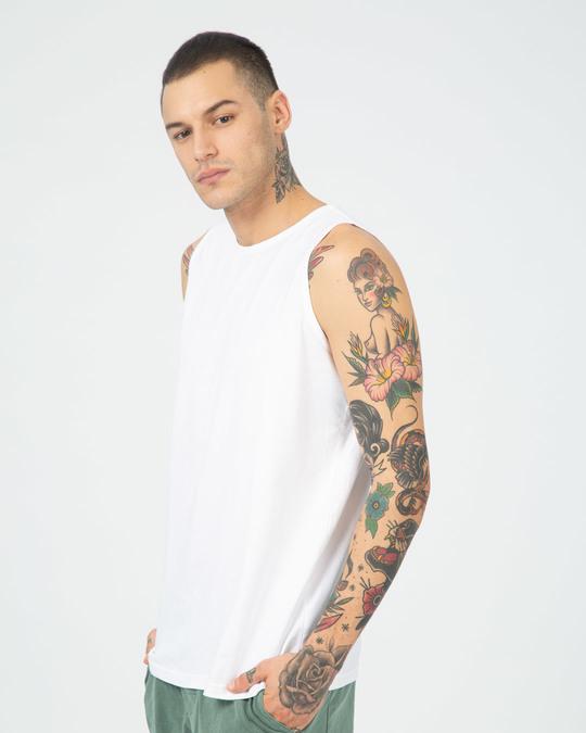 Shop White Vest-Full