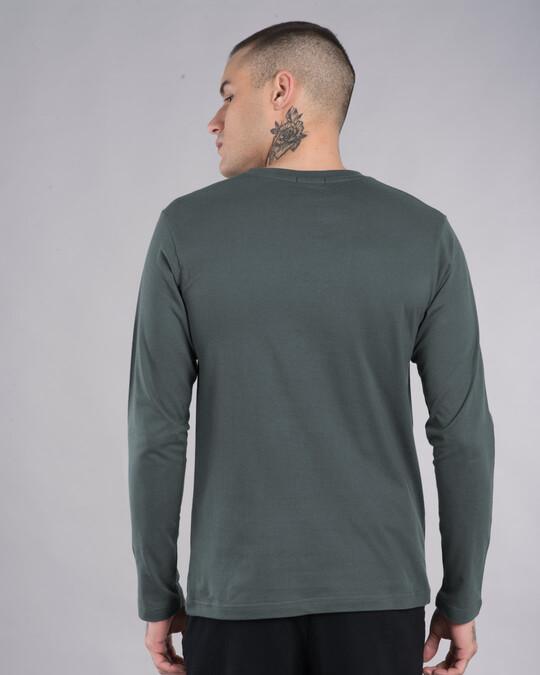 Shop Who Cares Duck Full Sleeve T-Shirt (LTL)-Back