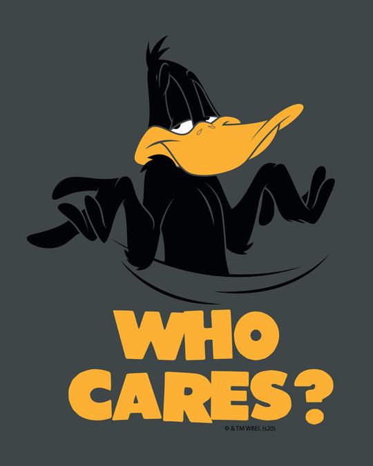 Shop Who Cares Duck Full Sleeve T-Shirt (LTL)