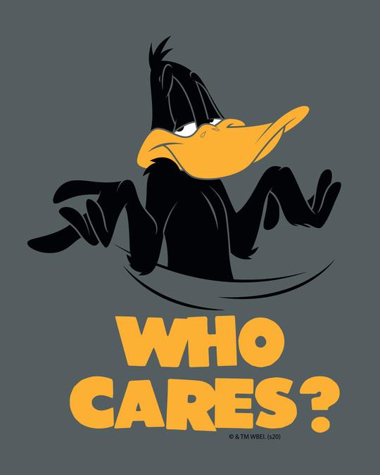 Shop Who Cares Duck Half Sleeve T-Shirt (LTL)