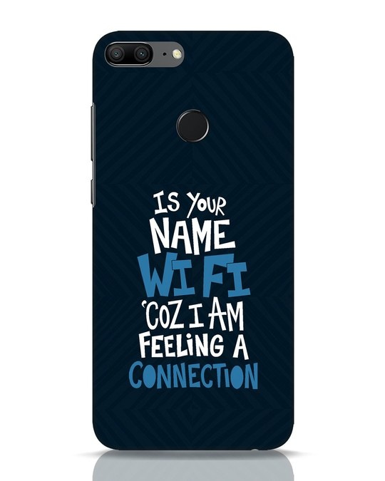 Shop Wi Fi Huawei Honor 9 Lite Mobile Cover-Front