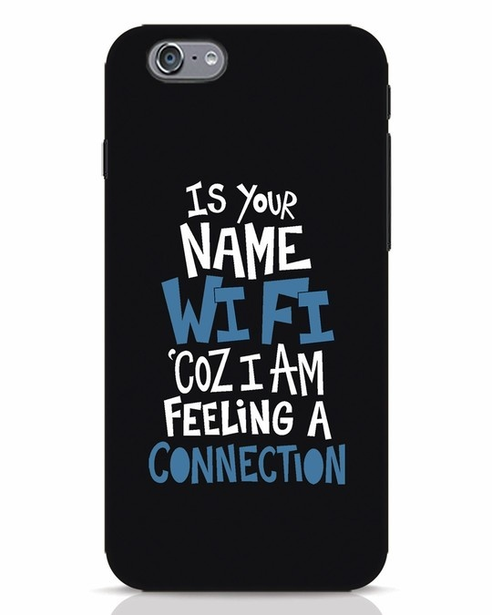 Shop Wi Fi iPhone 6s Mobile Cover-Front