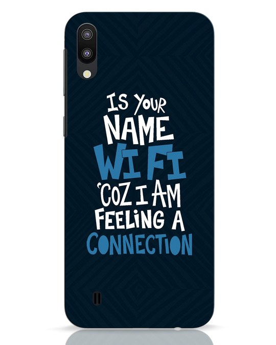 Shop Wi Fi Samsung Galaxy M10 Mobile Cover-Front
