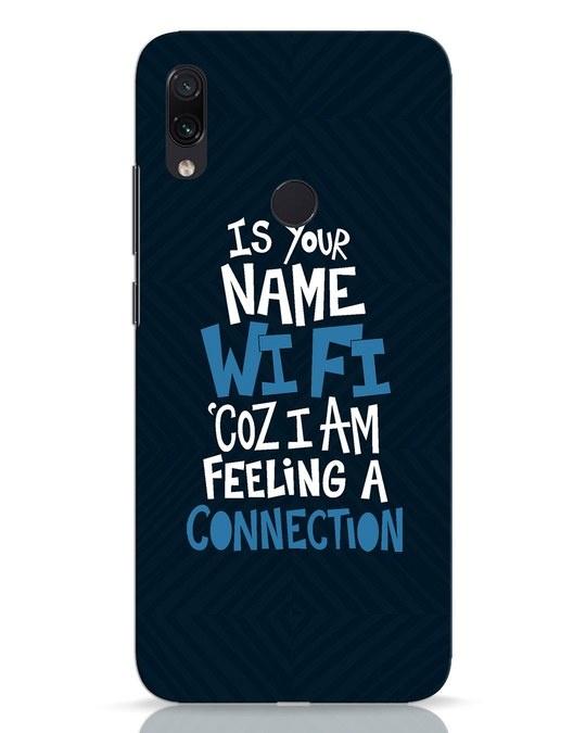 Shop Wi Fi Xiaomi Redmi Note 7 Mobile Cover-Front