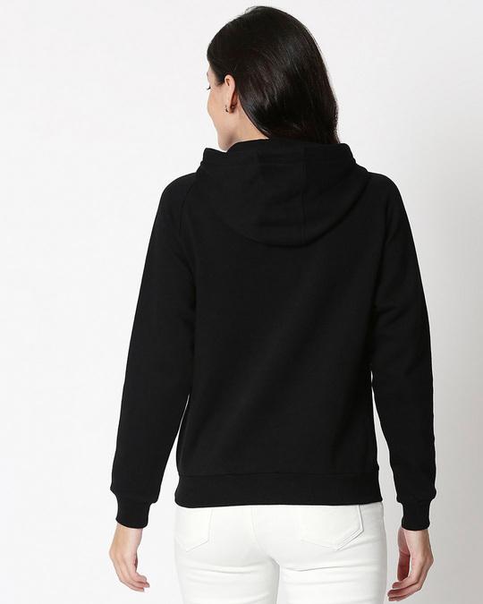 Shop Wild And Free Nautical Sweatshirt Hoodie Black-Back