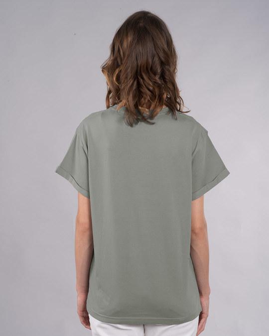 Shop Wild At Heart Boho Boyfriend T-Shirt-Back