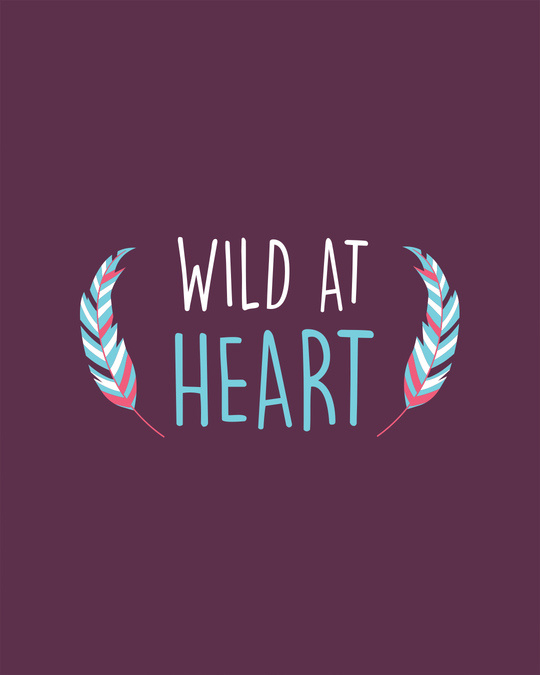 Shop Wild At Heart Boho Half Sleeve T-shirt-Full