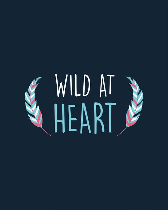 Shop Wild At Heart Boho Scoop Neck Full Sleeve T-Shirt-Full