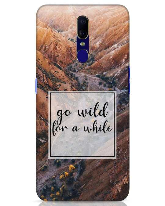 Shop Wild For Awhile Oppo F11 Mobile Cover-Front