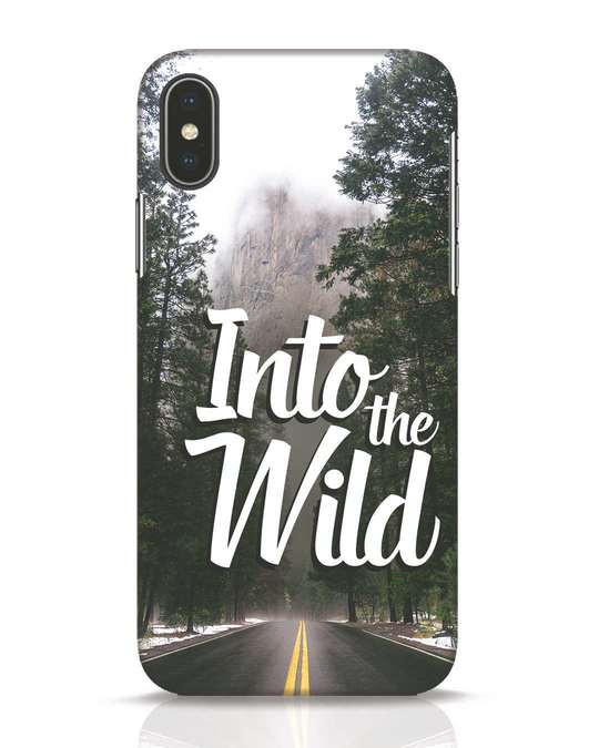 Shop Wild Road iPhone X Mobile Cover-Front