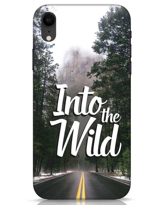 Shop Wild Road iPhone XR Mobile Cover-Front