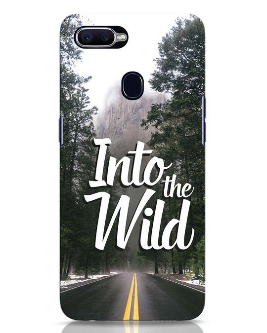 Shop Wild Road Oppo F9 Pro Mobile Cover-Front
