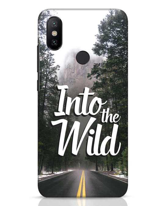 Shop Wild Road Xiaomi Mi A2 Mobile Cover-Front