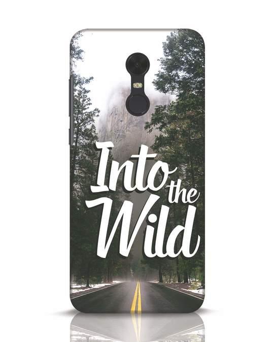 Shop Wild Road Xiaomi Redmi Note 5 Mobile Cover-Front