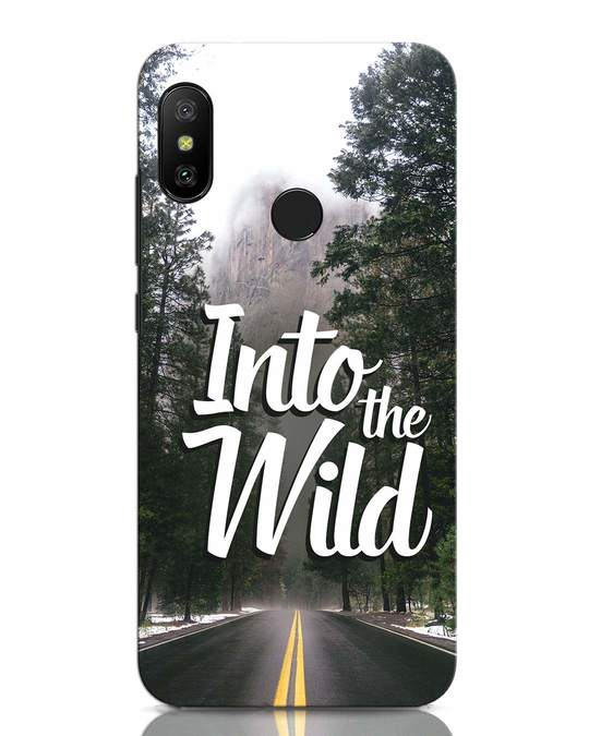 Shop Wild Road Xiaomi Redmi Note 6 Pro Mobile Cover-Front