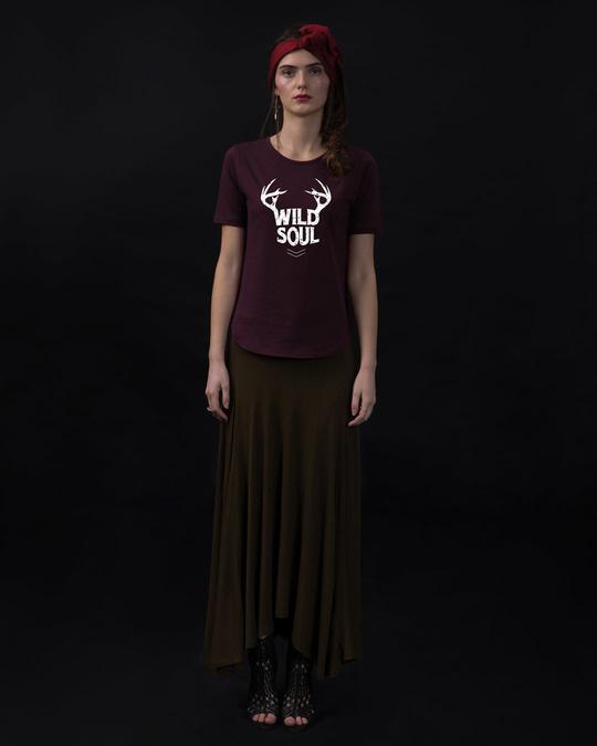 Shop Wild Soul Basic Round Hem T-Shirt