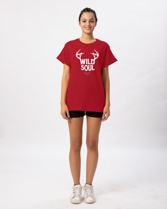 Shop Wild Soul Boyfriend T-Shirt-Full