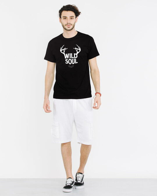 Shop Wild Soul Half Sleeve T-Shirt