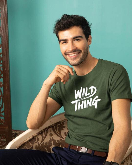 Shop Wild Thing Unisex Half T Shirt-Front