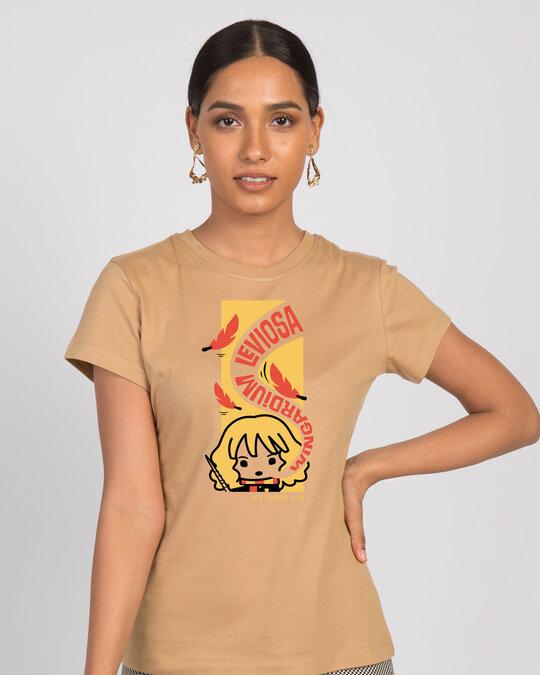 Shop Wingardium Leviosa Half Sleeve T-Shirt (HPL)-Front