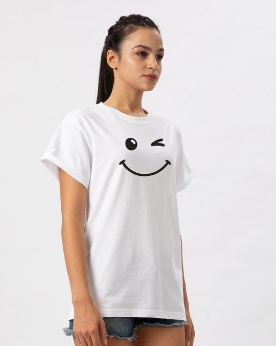 Shop Wink It All Boyfriend T-Shirt-Back