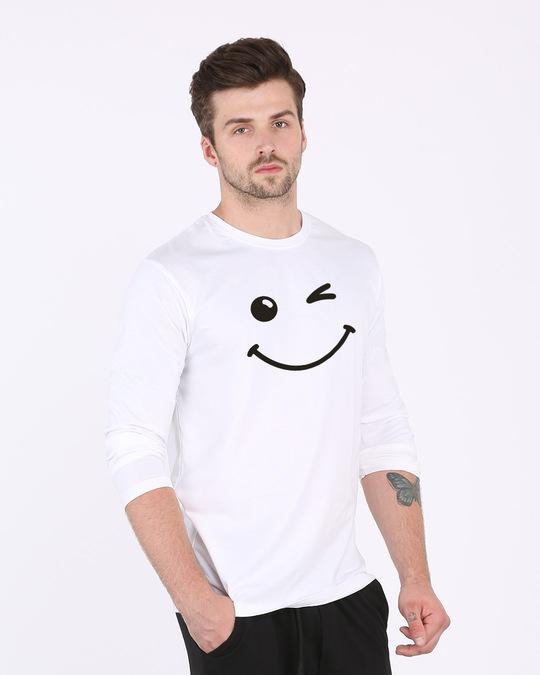 Shop Wink It All Full Sleeve T-Shirt-Back