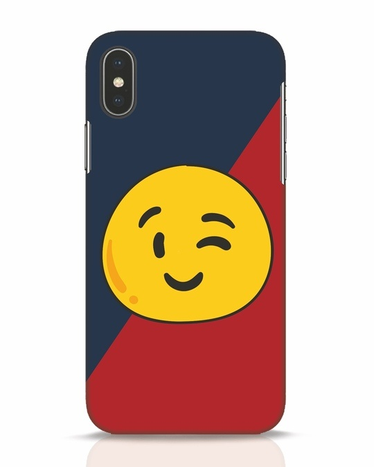 Shop Wink It iPhone X Mobile Cover-Front