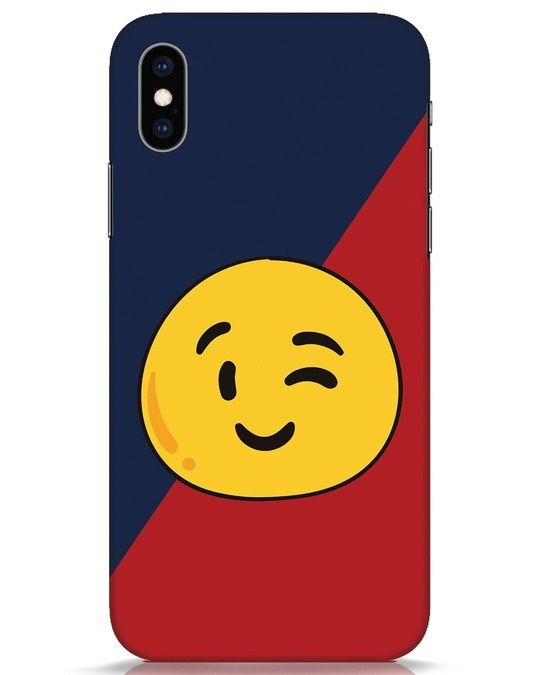 Shop Wink It iPhone XS Mobile Cover-Front