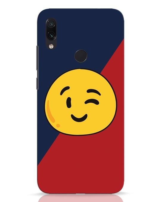 Shop Wink It Xiaomi Redmi Note 7 Pro Mobile Cover-Front