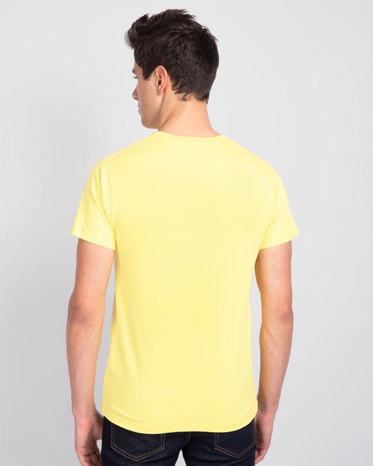 Shop Wink New Half Sleeve T-Shirt Pastel Yellow-Design