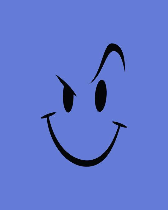 Shop Wink New Round Neck 3/4 Sleeve T-Shirt Blue Haze-Full